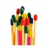 Gambar pentol korek warna-warni