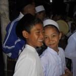 Senyum santri TPQ Mojowarno Jombang