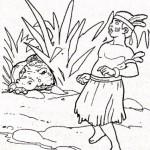 Cerita Rakyat Irian Jaya Dongeng Towjatuwa dan Buaya Ajaib