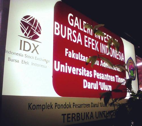Manajemen Operasional Galeri Investasi Bursa Efek Indonesia FIA UNIPDU Jombang