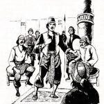 Prabu Selang Kuning melepaskan diri sebagai Patih Kerajaan Galuh dan mengangkat dirinya sendiri menjadi raja Kerajaan Pulau Majeti