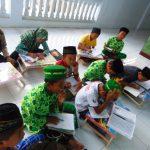 Kegiatan Belajar Santri TPQ Al-Mujahiddin Guwo Jombang dengan Metode At-Tartil