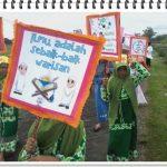 Pawai Taaruf BMQ At-Tartil Cabang Jombang di Dempok Tahun 2017