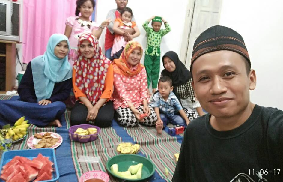 Buka puasa bersama keluarga besar Bani Karso tahun 2017