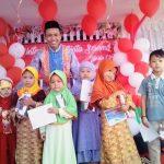 Keceriaan Buka Puasa Bersama Anak Yatim di Sanggar Genius Yatim Mandiri Jombang di Parimono tahun 2017