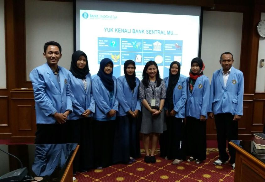 Kunjungan Mahasiswa Ekonomi Islam UNHASY Tebuireng Jombang ke Bank Indonesia Kantor Wilayah Jawa Timur di Surabaya