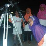 Asyiknya Astro Adventure Bersama Komunitas Astronomi Jombang di Pesantren Ramadhan Kreatif