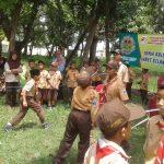 Perkemahan Menjelang Puasa Gerakan Pramuka Penggalang SDN Latsari Mojowarno Jombang