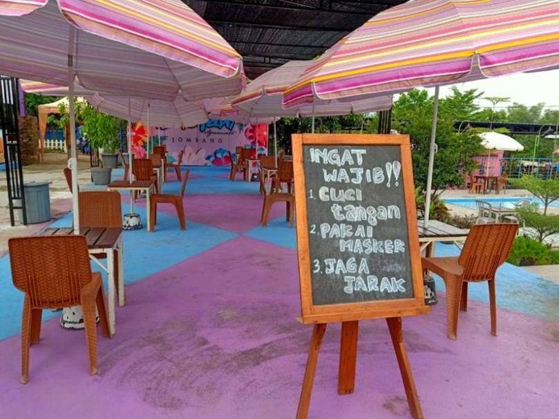 Pembukaan kembali tempat wisata Jomban di masa pandemi new normal - Gambar diambil dari Facebook Thica Basuki
